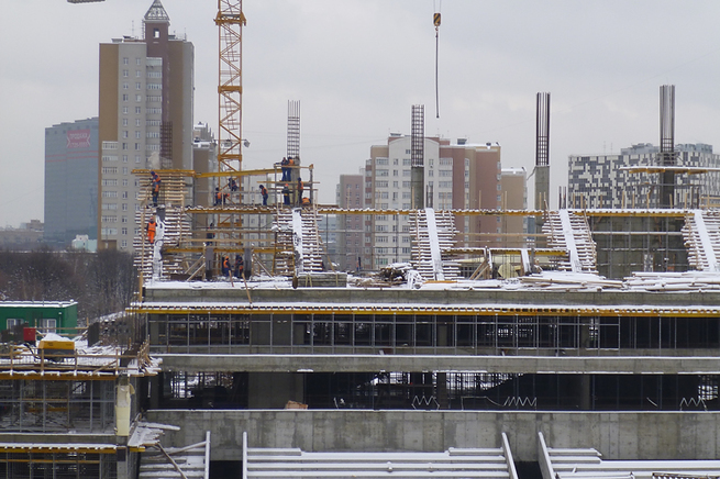 Строительство стадиона цска от 13