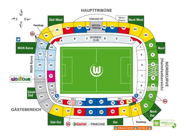 """Схема стадиона """""""