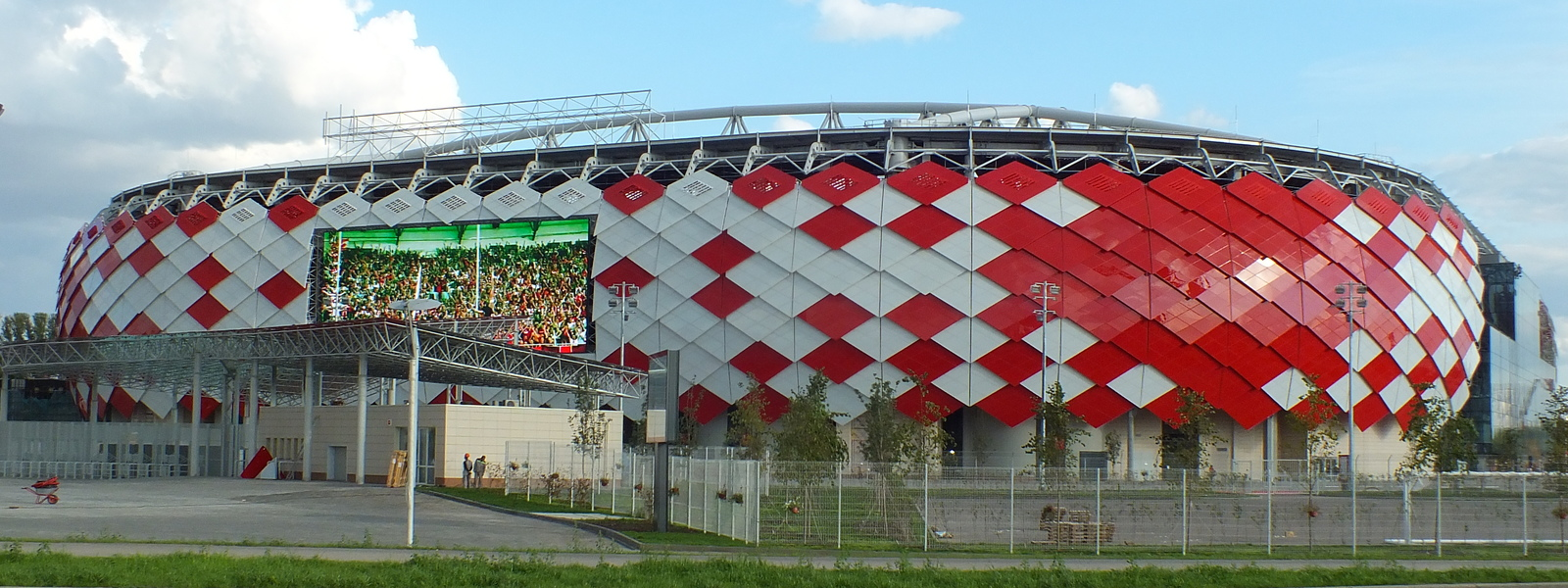 Very big spartak stadium  otkrytiye arena   23 august 2014